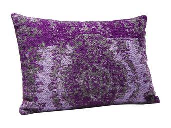 Kare Design - coussin kelim pop violet 60x40 - Coussin Rectangulaire