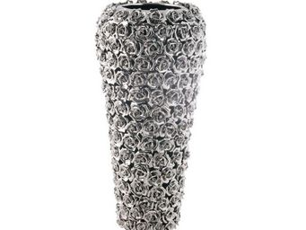 Kare Design - vase rose multi chrome grand - Vase Décoratif