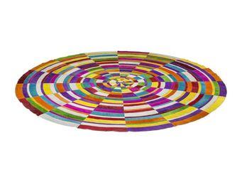 Kare Design - tapis rond spiral colore �250cm - Tapis Contemporain