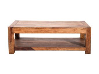Kare Design - table basse en bois authentico 120x60 cm - Table Basse Rectangulaire