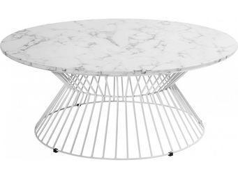 Kare Design - table basse ronde cintura 90 cm - Table Basse Ronde