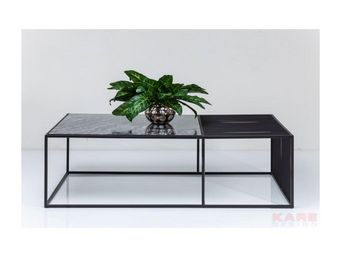 Kare Design - table basse heaven + hell 140x80cm - Table Basse Rectangulaire