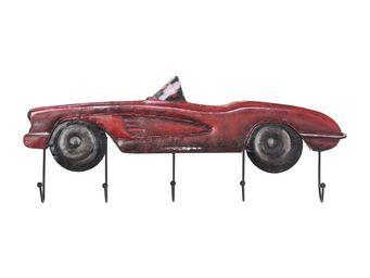 Kare Design - portemanteau cabrio rouge - Patère
