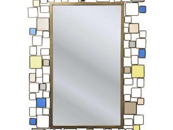 Kare Design - miroir brick deluxe 110x80cm - Miroir