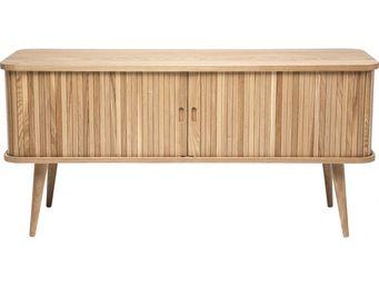 Kare Design - meuble tv en bois hollola - Meuble Tv Hi Fi