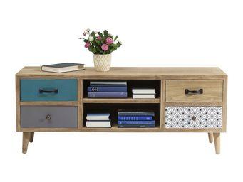 Kare Design - meuble tv capri - Meuble Tv Hi Fi