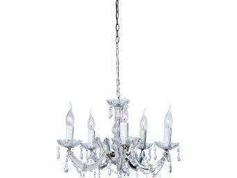 Kare Design - lustre barock transparent 5 - Lustre