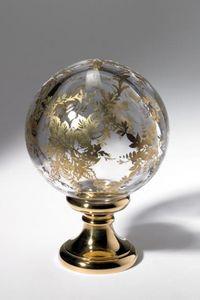 Cristal Decors - soufflée - Boule D'escalier