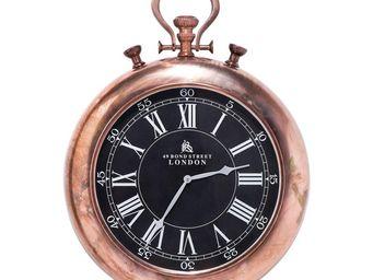 Kare Design - horloge pocket copper - Horloge Murale
