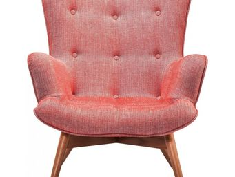 Kare Design - fauteuil retro angels wings rhythm carmin - Fauteuil