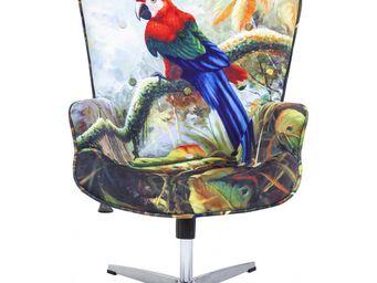 Kare Design - fauteuil de bureau jungle fever - Fauteuil Rotatif