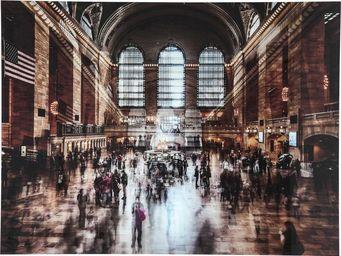 Kare Design - tableau en verre grand central station - Tableau Décoratif