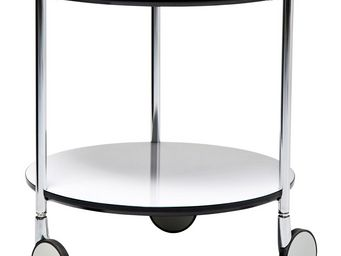 Kare Design - table d appoint doppio 40 - Table D'appoint