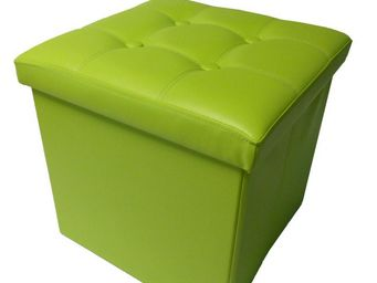 Cotton Wood - pouf pliable oxford pvc anis - Pouf