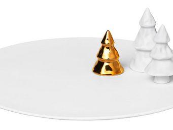 Miliboo - assiette de présentation - Vaisselle De Noël Et Fêtes