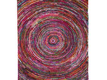 WHITE LABEL - tapis 180 x 120 cm - pulsar - l 180 x l 120 - coto - Tapis Contemporain