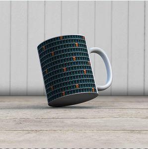 la Magie dans l'Image - mug foule de renards - Mug