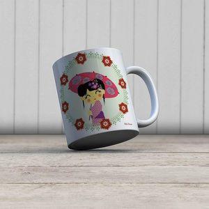 la Magie dans l'Image - mug héros japonaise - Mug