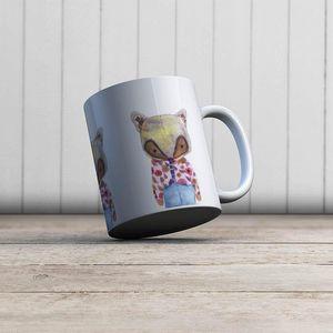 la Magie dans l'Image - mug mon petit renard rose - Mug