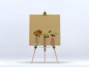 la Magie dans l'Image - toile 3 poppies - Impression Numérique Sur Toile