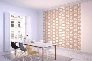 la Magie dans l'Image - grande fresque murale lotus beige blanc - Papier Peint Panoramique
