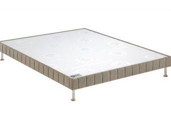 Bultex - bultex sommier double tapissier confort ferme chi - Sommier Fixe À Ressorts