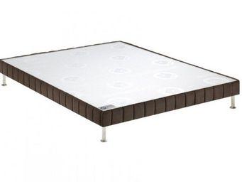 Bultex - bultex sommier double tapissier confort ferme vis - Sommier Fixe À Ressorts
