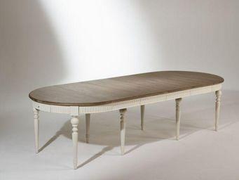 Robin des bois - aude - Table De Repas Ovale