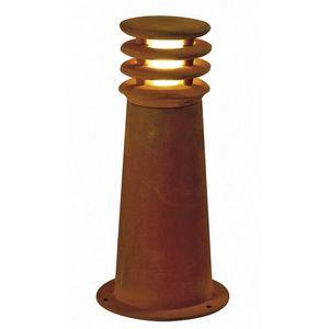 SLV - borne extérieure rouille rusty round ip55 h40 cm - Borne D'extérieur