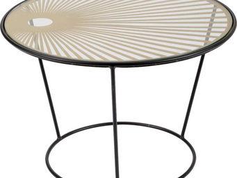 Amadeus - table basse soleil - Table Basse Ronde
