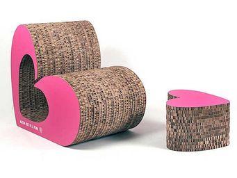 Corvasce Design - love sofà - Fauteuil Bas