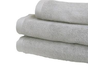 Liou - serviettes de toilette gris perle - Serviette De Toilette
