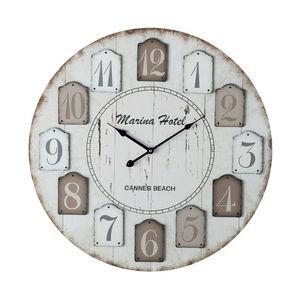 Maisons du monde - hôtel marina - Horloge Murale