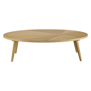Maisons du monde - table basse l120 origam - Table Basse Ovale