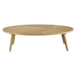 MAISONS DU MONDE - table basse l120 origam - Table Basse Ovale