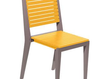 City Green - chaise de jardin empilable portofino - 42.4 x 52.3 - Chaise De Jardin Empilable