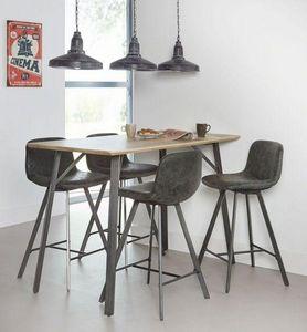 Mathi Design - zenon-- - Chaise Haute De Bar