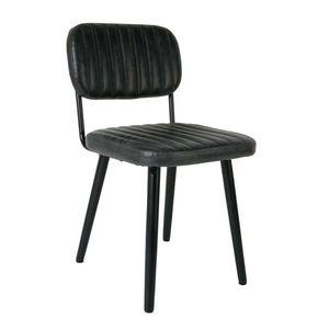 Mathi Design - chaise jeka noir - Chaise