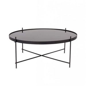 ZUIVER - table salon cupid black - Table Basse Ronde