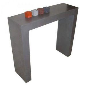 Mathi Design - console béton arche - Console