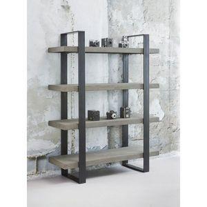 Mathi Design - etagère design aspect béton - Bibliothèque