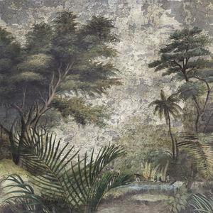 Ananbô - les sources de l'orénoque grisaille - Papier Peint Panoramique