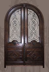Boiseries Et Decorations -  - Porte D'entrée Double