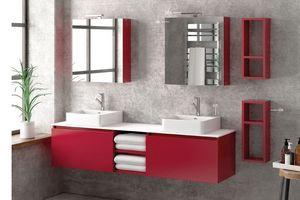 ITAL BAINS DESIGN - space 175 laque - Meuble De Salle De Bains