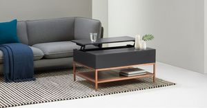 MADE -  - Table Basse Avec Plateau Escamotable