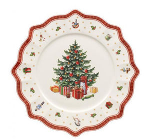 VILLEROY & BOCH - assiette de présentation - Vaisselle De Noël Et Fêtes