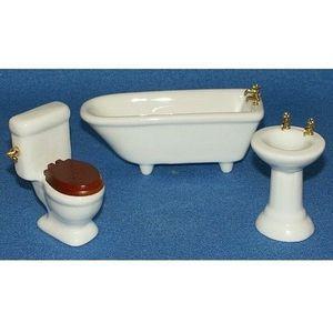 La Boite A Joujoux - salle de bain - Meuble De Poupée