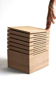 Design Pyrenees Editions - bois - Tabouret