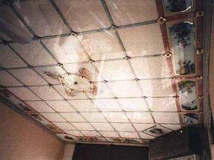 ALTE DEKORATIONEN MAXIMILIAN FRITZ -  - Plafond De Verre