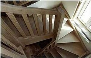 Se Corebat -  - Escalier Deux Quarts Tournant